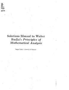 Rudin ch 8 solution manual principle of mathematical analysis.